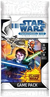 Star Wars Pocketmodel TCG Clone Wars Game Pack
