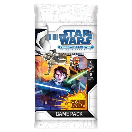 Star Wars Pocketmodel TCG Clone Wars Game Pack [Toy]