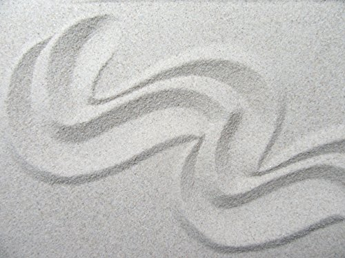 Xabian 1kg Dekosand hell grau | feiner Beach Sand