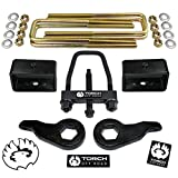 TORCH 3' Front 3' Rear Lift Kit For 1992-1999 Chevy Tahoe Suburban GMC Yukon 1500 4X4 4WD w/Tool