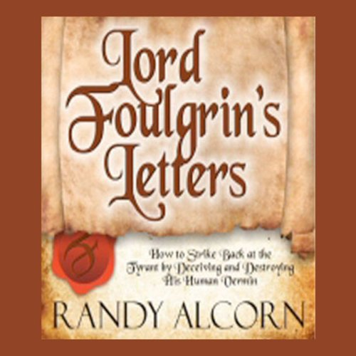 Lord Foulgrin's Letters audiobook cover art