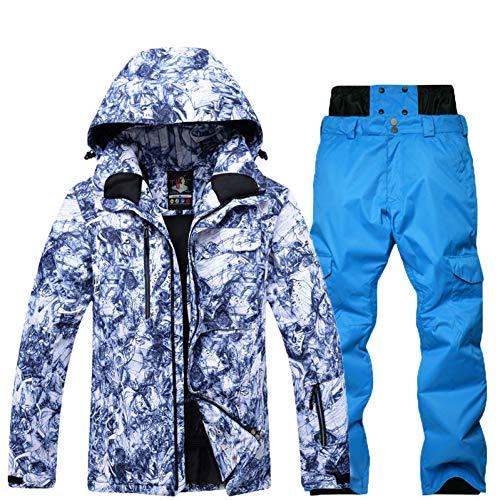 KUNHAN Heren ski-jack Heren ski slijtage Ski Suit Mens Speciaal Snowboarden Kleding Waterdichte Winddichte Sneeuwslijtage Jassen En Broeken Beste Ski Suit