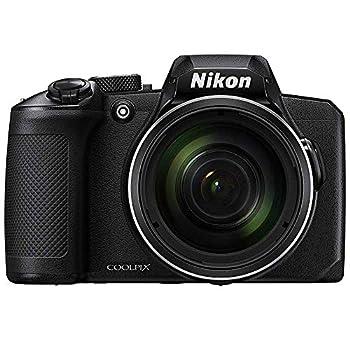 Nikon 26528B COOLPIX B600 16MP 60x Optical Zoom Digital Camera w/Built-in Wi-Fi - Black -  Renewed