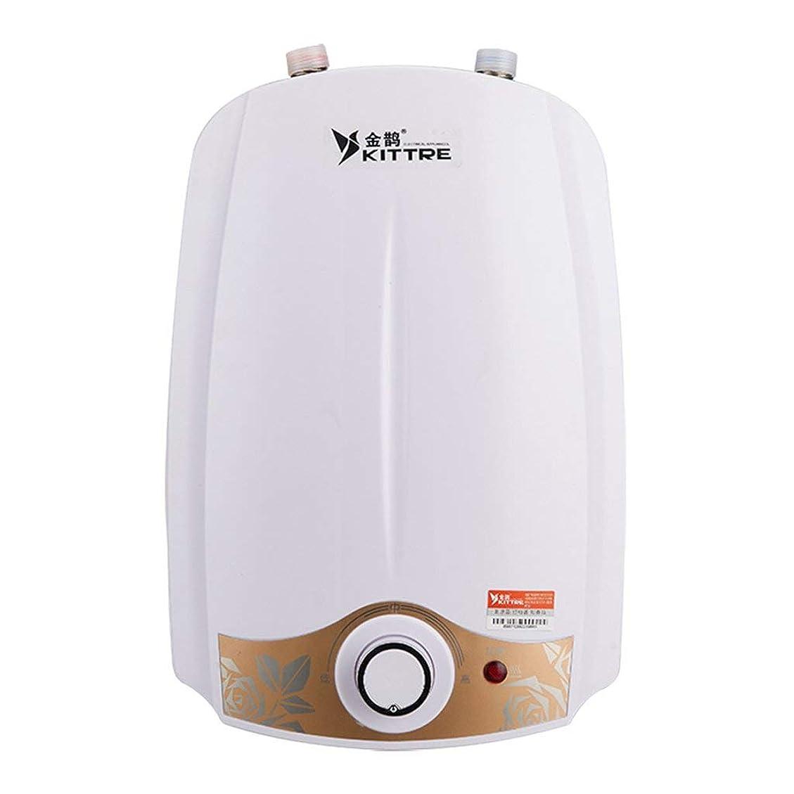 アパート放散する階6l電気給湯器システムインスタントシャワーパネルキットタンクレス給湯器用キッチンキッチン220ボルト
