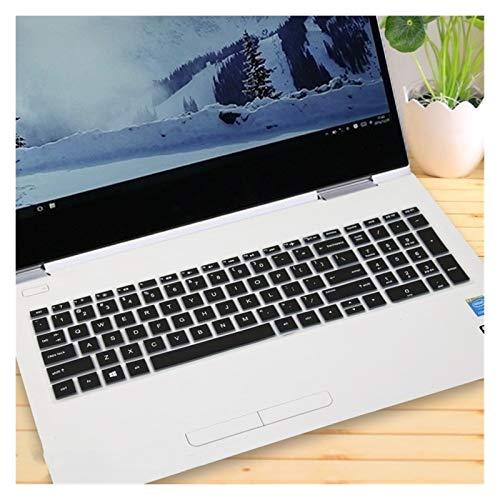 Adhesivos duraderos para Teclado 15 15,6 Pulgadas portátil portátil Teclado Cubierta Protectora de la Piel for HP Envy X360 15-bd001TX Pavilion 15-CB073TX / CB075TX Accesorios para teclados