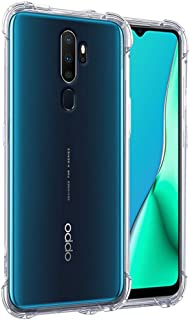 NTV Oppo A5 2020 (Transparent) Protective + Anti Shockproof Case