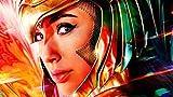 UKMNB Póster De La Película Wonder Woman 3D Puzzles 1000 Piezas Adultos, Rompecabezas Desafiantes para Adultos Y Adolescentes,Decoración del Hogar 75*50Cm
