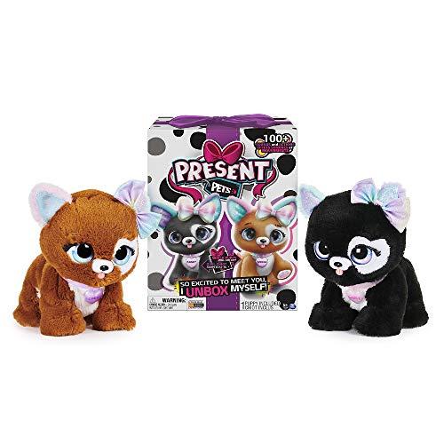 Present Pets Cucciolo Rainbow Glitter