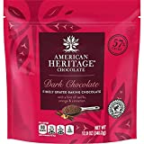 American Heritage 12-ounce Grated Chocolate Pouch - Finely Grated Chocolate Flavor - Great Addition To Daily Meals & Dessert - Perfect For Baking, Smoothies/Drinks, Cereals, Yogurt & Ice Cream