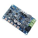 diymore Amplificador de placa TDA7492P 50W+50W amplificador de doble canal inalámbrico digital Bluetooth 4.0 receptor de audio amplificadores placa DIY módulo (azul)