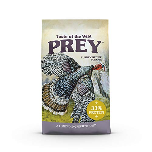 Taste of the Wild Prey Turkey Limited Dry Cat Food