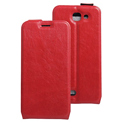 Litao-Case CN Hülle für Archos 50e Helium hülle Flip Leder + TPU Silikon Fixierh Schutzhülle Case 7
