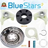 ULTRA DURABLE 285785 Washer Clutch Kit and 285753A HEAVY DUTY Motor Coupling Kit by Blue Stars - Exact Fit for Whirlpool Kenmore Washers - Replaces 285331 3351342 3946794 3951311