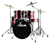 "XDrum Semi 22"" Standard Schlagzeug Lipstick Red Set rot"