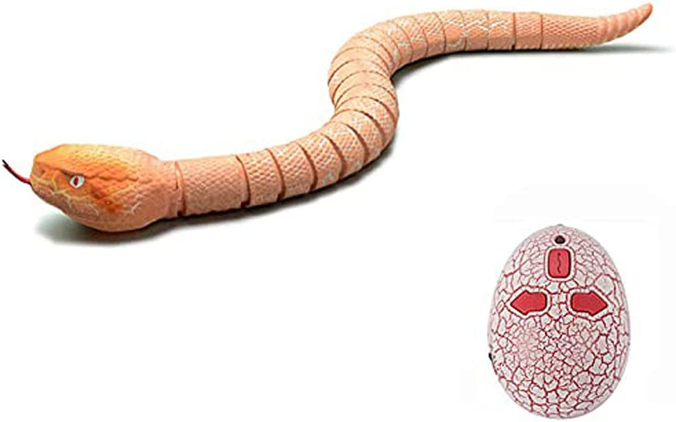 Forevershop Remote Control Snake Genuine Toys Real Over item handling Fake Electronic