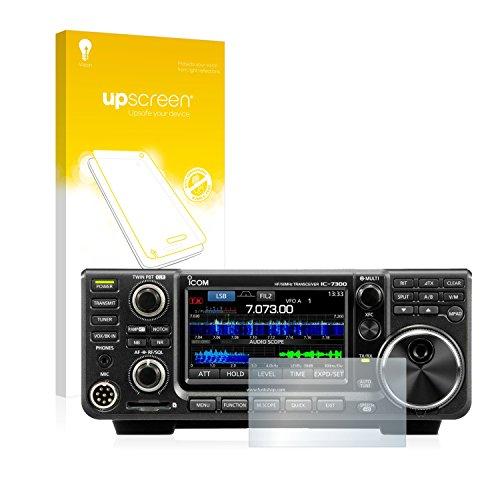 upscreen Entspiegelungs-Schutzfolie kompatibel mit Icom IC-7300 – Anti-Reflex Displayschutz-Folie Matt