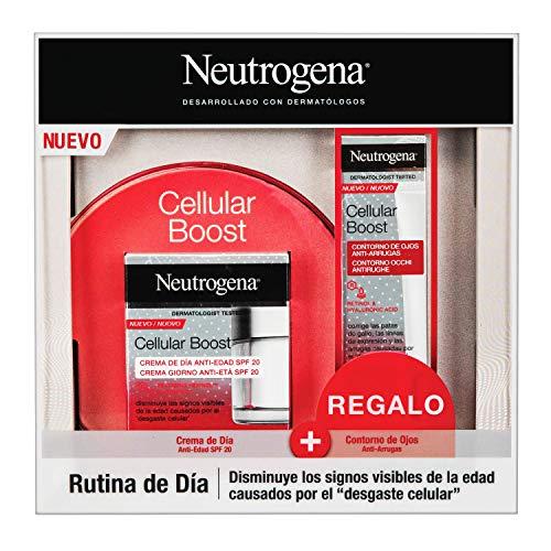Neutrogena Cellular Boost Antiedad Pack con Crema de Día y
