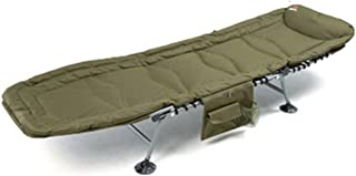 Loungers Folding Sheet Person Office nap Bed Home Simple Cloth Bed Camping Bed (Color : Green, Size : 185 * 62 * 44 cm)