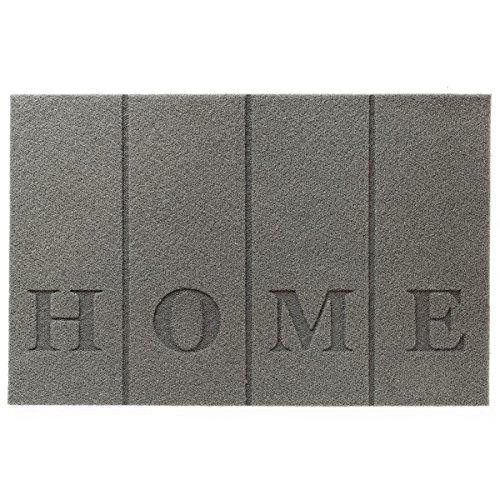 Estera de antracita - Felpudo - interior y exterior - PP alfombra...