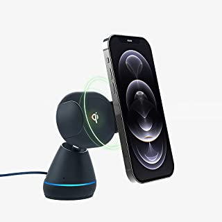 iOttie Aivo Connect - Hands Free Alexa in Your car with Your Phone – Wireless Charger Auto Clamping Phone Mount Holder wit...