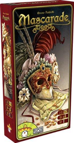 Mascarade - Asmodee - Jeu de société - Jeu de cartes - Jeu de bluff et de mémoire
