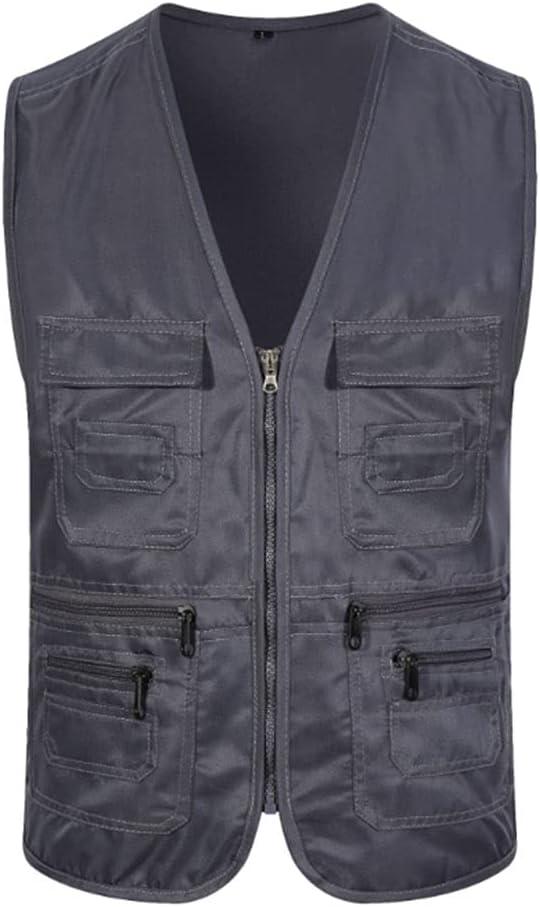 HYFDGV Fishing Vests for Men Multi-Pocket Vest Direct stock discount Ja Casual low-pricing
