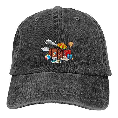 Emonye Cap Coron Cebu Baler Legazpi Bacolod Creative Summer Travel Ad Unisex Cowboy Hat Adjustable Back Button Hat