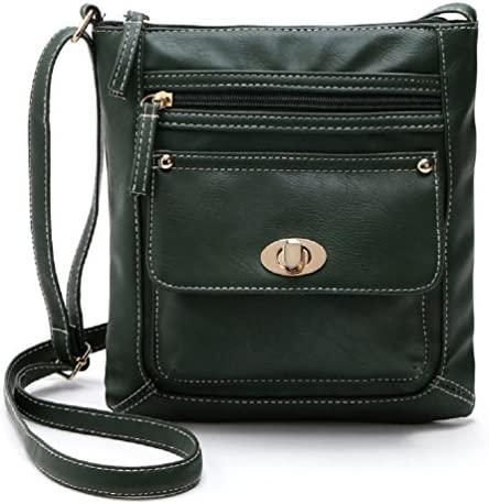 Details about  /TIGNANELLO Utility II Double Zip Turn Lock Organizer Crossbody Pale Gold Leather