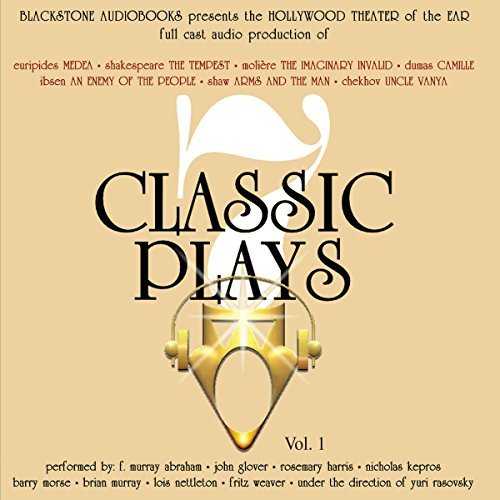Seven Classic Plays                   Written by:                                                                                                                                 William Shakespeare,                                                                                        Henrik Ibsen,                                                                                        Anton Chekhov,                   and others                          Narrated by:                                                                                                                                 full cast                      Length: 11 hrs and 40 mins     Not rated yet     Overall 0.0