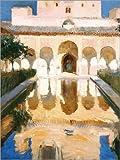 Poster 30 x 40 cm: Botschaftersaal in Alhambra von Joaquín