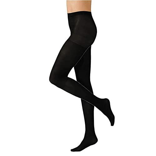 3a4df34c805 HeatGuard Ladies Thermal Tights Opaque Tights for women Ladies Winter Tights  Size Small Medium Large Black