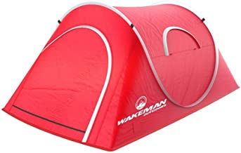 Wakeman Sunchaser Tent 2-Person Red Pop-Up