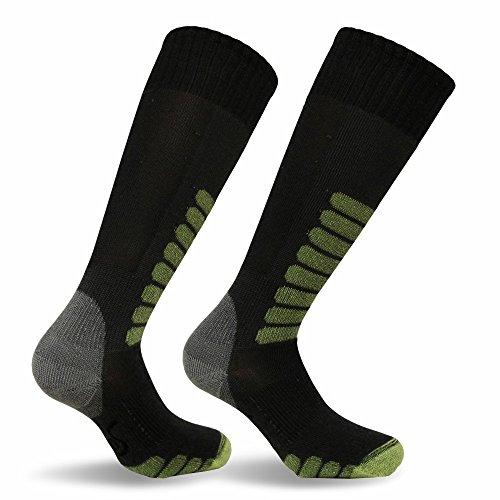 Eurosock Ski Supreme Skisocken - 0142, Damen Unisex-Erwachsene Herren, Damen, sportliche Strümpfe, anthrazit, X-Sock Size:10-13/Shoe Size: 6-12