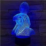 Ägyptische Mythologie des Schutzpatrons der Lampen-3D Ehrfürchtiges Geschenk für...