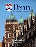 University of Pennsylvania: 2021 – 2022 Calendar of Nature, Country, University – 18 months – 8.5 x 11 Inch High Quality Images