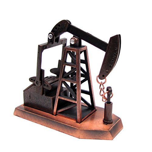 TG,LLC Treasure Gurus 1:48 O Gauge Scale Replica Oilfield Oil Pump Jack Rig Die Cast Pencil Sharpener