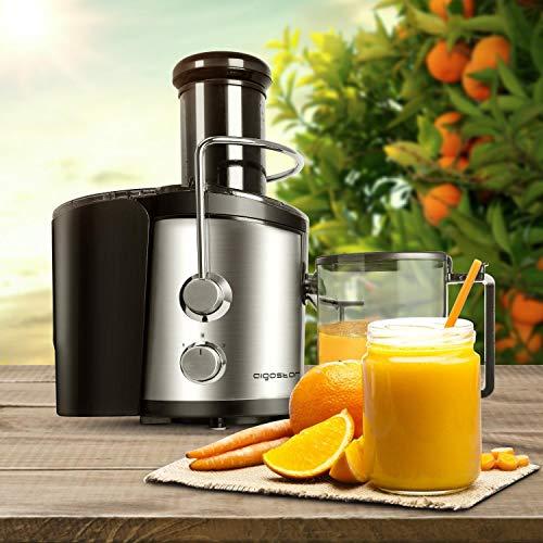 Aigostar 30IMX - Licuadora y extractor de frutas y verduras ...