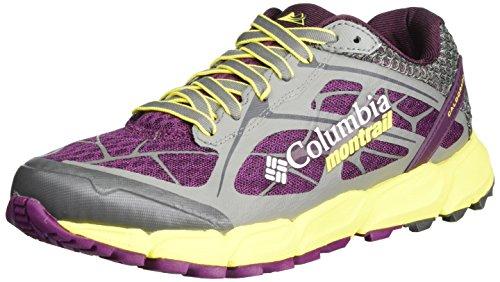 Columbia Caldorado II, Zapatillas de Running para Asfalto Mujer, Morado (Dark Raspberry,...