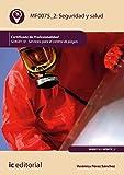 Seguridad y salud. SEAG0110 - Servicios para el control de plagas