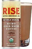Oat Milk Mocha Nitro Cold Brew Latte   USDA Organic, Non-Gmo   Vegan & Dairy Free   Draft Pour, Clean Energy, Low Acidity & Refreshingly Smooth