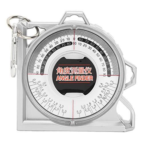 Nivel y herramienta de localizador de ángulo magnético, Mini herramienta de medición de inclinómetro Medidor de nivel de inclinación del transportador Medidor de ángulo magnético