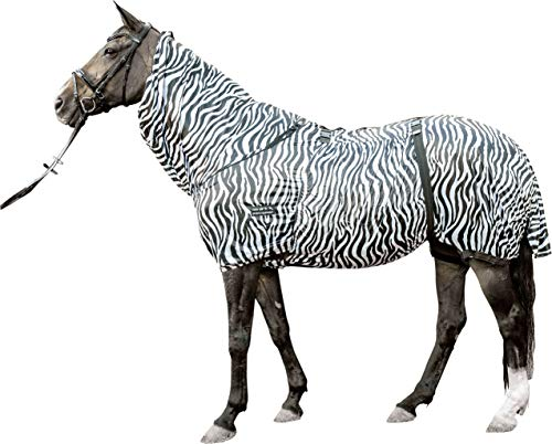 HKM 7238 Ekzemerdecke Zebra, Insektendecke Fliegendecke Pferdedecke, 105