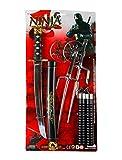 Deiters Ninja Waffen Set schwarz 6-TLG.