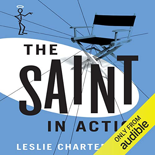 The Saint in Action  By  cover art