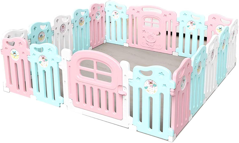 online barato Los Niños juegan Cerca Baby Toddler Jugarpen Jugarpen Jugarpen Home Indoor Security Fence Zona de Juegos Crawling Mat (Tamaño   16+2)  servicio de primera clase