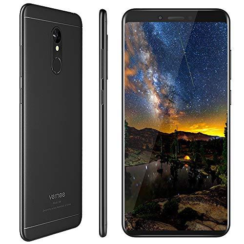 Vernee M6 Teléfono Móvil Android, Pantalla 5.7 Pulgadas, 3300 mAh, 4GB RAM+64GB ROM, Cámara Doble 16MP+13MP, Desbloqueo Rápido Huella, Dual SIM y Dual Navegación, Smartphone Libre 4G