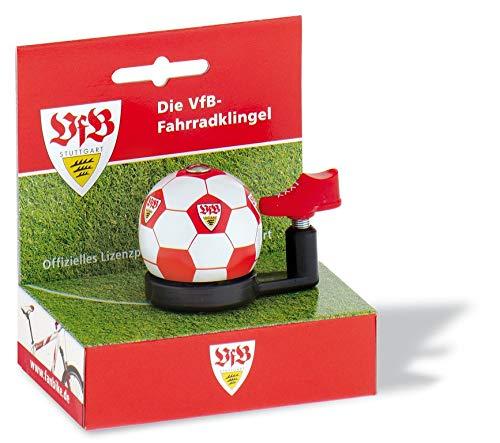 Fan Bike Unisex– Erwachsene VfB Stuttgart Glocke, Mehrfarbig, Einheitsgröße