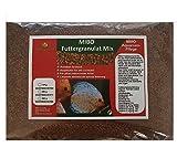 *MIBO Hauptfutter Granulat Mix 1000ml/500g Cichliden Bits für alle Zierfische im Aquarium