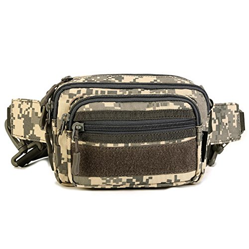 Multi-Purpose Petit Messenger Bag Purse Homme Sous-Package Nylon 19 * 13 * 10cm , 5