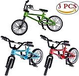 Liuer 3PCS 1:12 Puppenhaus Garten Zubehör Miniatur Fahrrad Möbel Mountainbike Modell Spielzeug...